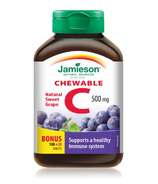Jamieson Vitamin C Chewable Bonus Pack