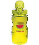 Nalgene 12 Ounce On the Fly Kids Bottle Green with Melon Art