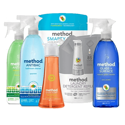Method Home Cleaning & Laundry Bundle