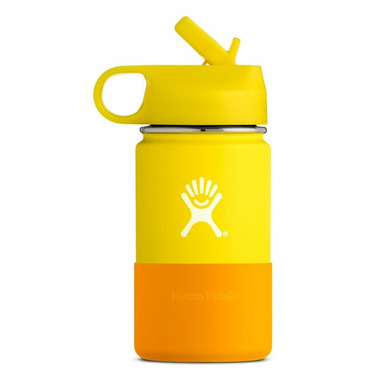 Hydro Flask Kids Wide Mouth Lemon