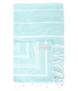 Stray & Wander Marin Turkish Hand Towel Turquoise