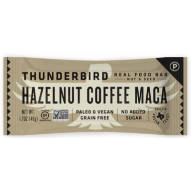 Thunderbird Real Food Bar Hazelnut Coffee Maca