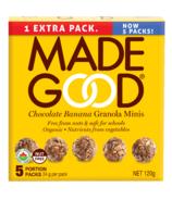 MadeGood Granola Minis Chocolate Banana