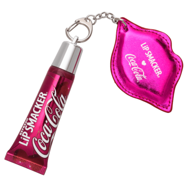 Lip Smacker Cherry Coke Refresh Lip Gloss with Keychain