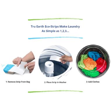 Tru Earth Eco-Strips Laundry Detergent Fresh Linen