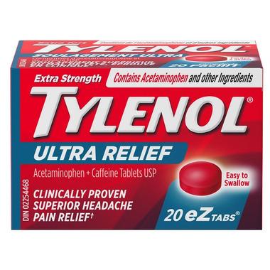 Tylenol Extra Strength Ultra Relief eZ Tabs