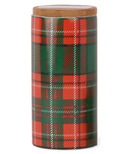 Paddywax Tartan Pomegranate & Spruce Plaid Candle