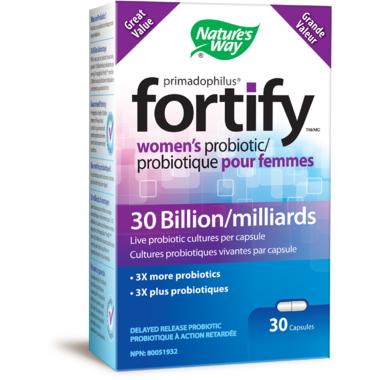 Nature\'s Way Primadophilus Fortify Women\'s Probiotics