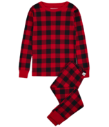 Little Blue House Kid's PJ Set Buffalo Plaid