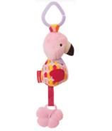 Skp Hop Bandana Buddies Chime & Teethe Toy Flamingo