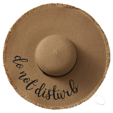 Tickled Pink Do Not Disturb Embroidered Hat
