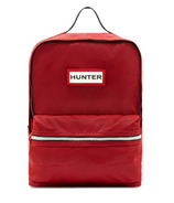 Hunter Boots Original Kids Nylon Backpack Military Red
