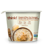 think! Protein & Fiber Hot Oatmeal Honey Peanut Butter