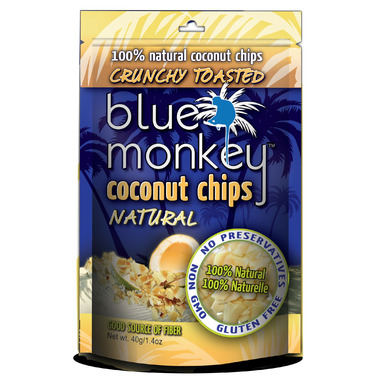 Blue Monkey No Sugar Added Baked Coconut Chips