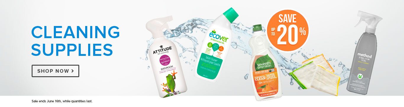 Save up to 20% off Cleaning Supplies