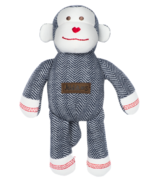 Juddlies Cottage Collection Organic Rattle Monkey Lake Blue