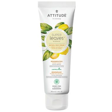ATTITUDE Super Leaves Natural Body Cream Regenerating
