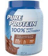 Pure Protein 100% poudre de protéines de lactosérum