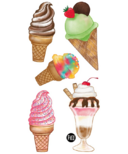 PiCO Temporary Tattoos Ice Cream Cones