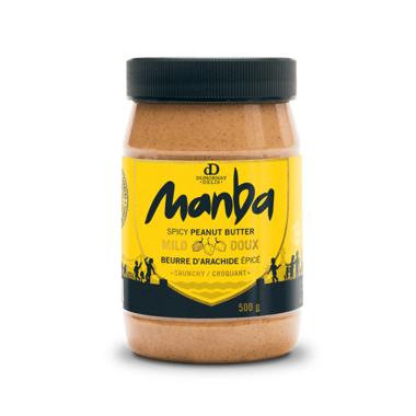 Manba Crunchy Mild Spicy Peanut Butter