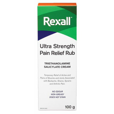 Rexall Ultra Strength Pain Relief Rub No Odour