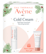 Avène Cold Cream Lip Balm Holiday Set