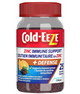 Cold-Eeze Zinc Immune Support Gummies Citrus Elderberry
