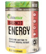 Iron Vegan Balanced Energy Thé glacé et limonade