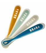Beaba Silicone Spoon Set Peacock