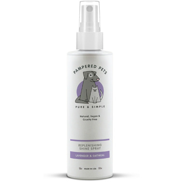 Pampered Pets Replenishing Shine Spray Lavender Oatmeal