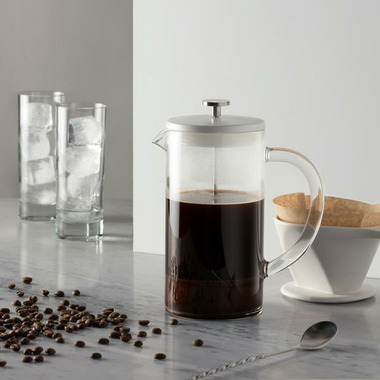W&P Design Pour Over Press White