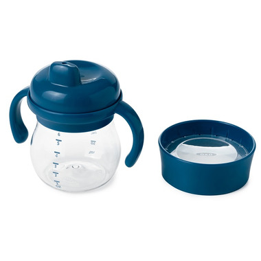 OXO Tot Transition Sippy Cup Set Navy