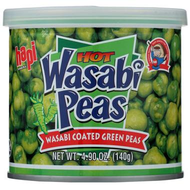 Hapi Snacks Hot Wasabi Peas