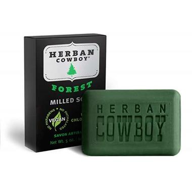 Herban Cowboy Forest Bar Soap
