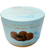 Walker's Chocolates Salted Caramels Truffles Hat Box