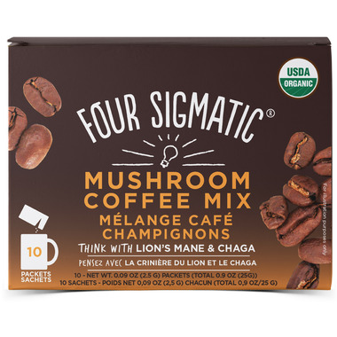 Four Sigmatic Mushroom Coffee Mix with Lion\'s Mane And Chaga
