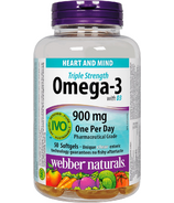 Webber Naturals Triple Strength Omega-3 Plus Vitamin D