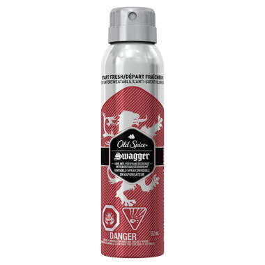 Old Spice Invisible Spray Antiperspirant and Deodorant Swagger