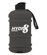 Hydr8 Water Bottle Matt Black
