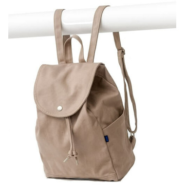 Baggu Drawstring Backpack in Mushroom