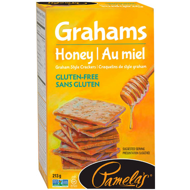 Pamela\'s Gluten Free Graham Crackers Honey