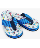 Hatley Little Blue House Kids Flip Flops Pretty Sailboats