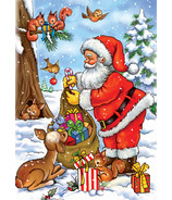 D-TOYS Santa with his Animals Puzzle
