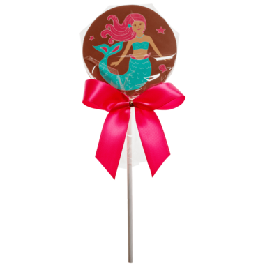 Saxon Chocolates Milk Chocolate Mermaid Pop