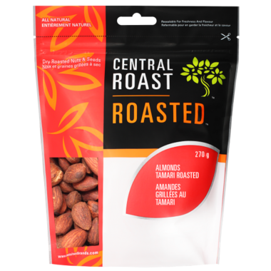 Central Roast Roasted Tamari Almonds
