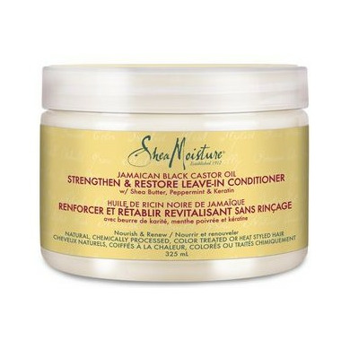Shea Moisture Strengthen, Grow & Restore Leave-In Conditioner