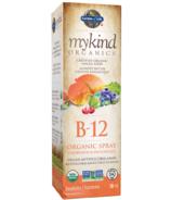 Vaporisateur de vitamine B-12 bio à la framboise de Garden of Life