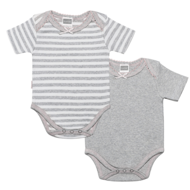 Kushies 2 Pack Short Sleeve Bodysuit