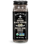Watkins Organic Ground Black Pepper
