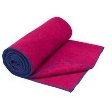 Gaiam Thirsty Yoga Hand Towel Pink/Blue